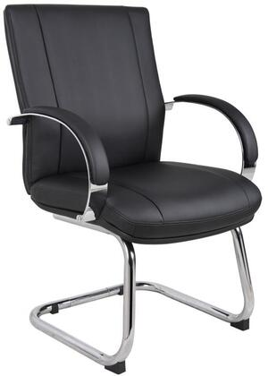 "Boss AELE40CBK 25"" Contemporary Office Chair"