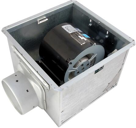 Air King EFxSH Exhaust Fan with x CFM, 23 Gauge Galvanized Steel Housing, Polymeric Grill, and Humidity Sensor in White