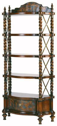Ambella 07114800001 Wood 5 Shelves Bookcase