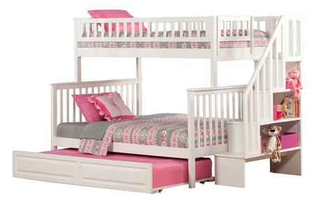 Atlantic Furniture AB56732  Twin over Full Size Bunk Bed