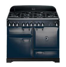 AGA ALEG44ECDCBL Legacy Series Electric Freestanding Range with Smoothtop Cooktop, 2.2 cu. ft. Primary Oven Capacity, Storage in Cobalt Blue