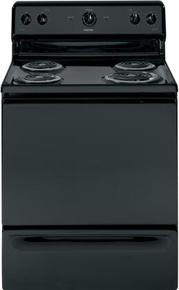 "Hotpoint RB525DDBB Coil 30""4  Freestanding Range 