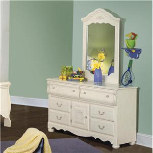 Standard Furniture 4059A Diana Series Wood Dresser