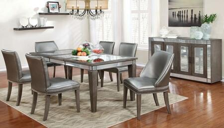 Furniture Of America Cm3352t4sc2wcsv Sturgis Dining Room Set Appliances Connection