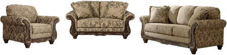 Milo Italia MI5301SLCTOPA Ashlynn Living Room Sets