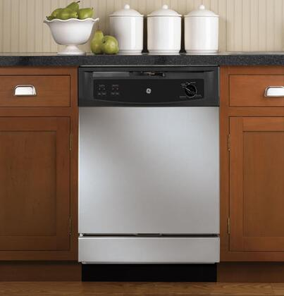 GE GSD2350RCS  Built-In Full Console Dishwasher with in CleanSteel
