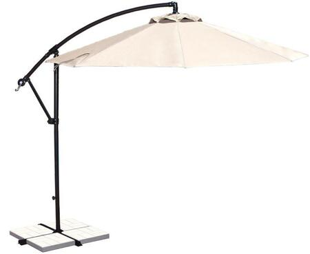 Image of Open Canopy with Champagne Linen Olefin Colored Fabric