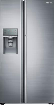 "Samsung RH22H9010SR 36"" Showcase Series Counter Depth Side by Side Refrigerator with 21.5 cu. ft. Capacity in Stainless Steel"