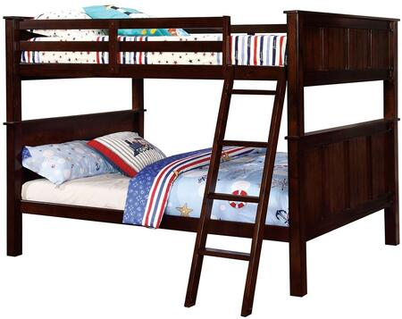 Furniture of America CMBK930FFBED Gracie Series  Full Size Bunk Bed