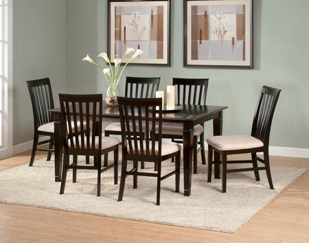 Atlantic Furniture DECO3660STDT Deco Series 36x60 Solid Top Dining Table: