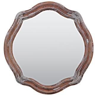 Bramble 23462 Rose Series Round Both Wall Mirror