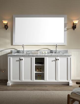 "Ariel C073D ARIEL Westwood 73"" Double Sink Vanity Set"