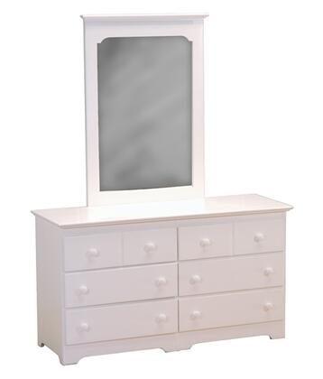 Atlantic Furniture C69002 Windsor Series  Mirror