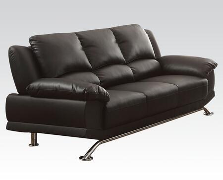 Acme Furniture 51205 Maigan Series Stationary Leather Match Sofa