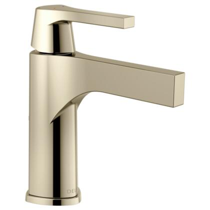 Zura  574-PNLPU-DST Delta Zura: Single Handle Lavatory Faucet - Less Pop Up in Polished Nickel