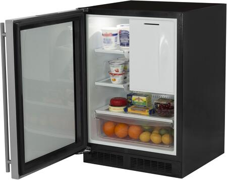 "Marvel ML24RFP3LP 24""  Compact Refrigerator with 4.9 cu.ft. Capacity in Panel Ready"
