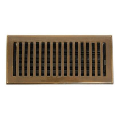 Brass Elegans 116F Contemporary Series Solid Brass Decorative Floor Register Vent