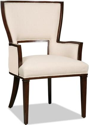 Hooker Furniture 300-3500 Lindy Natural Series Transitional-Style Dining Room Chair in Beige
