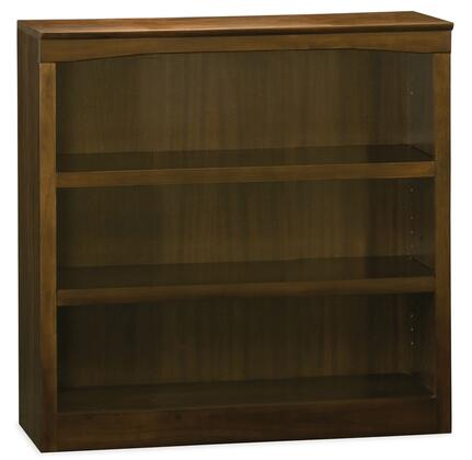 Atlantic Furniture BS36AW  3 Shelves Bookcase