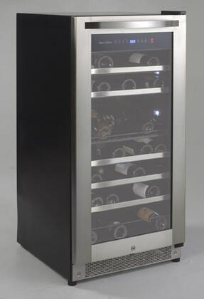 "Avanti WCR9000S 23.5"" Freestanding Wine Cooler, in Stainless Steel"