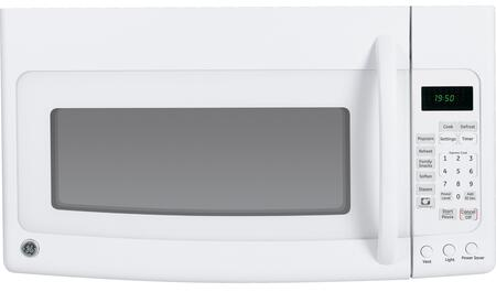 GE JVM1950DRWW 1.9 cu. ft. Capacity Over the Range Microwave Oven