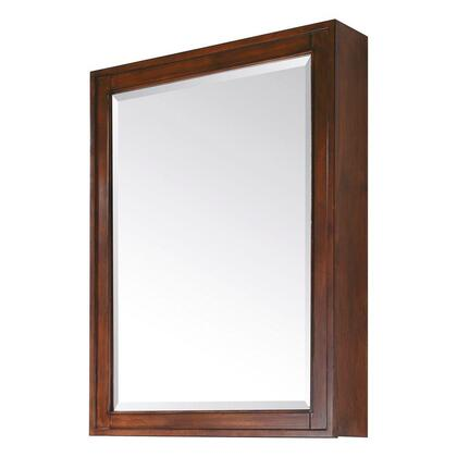 """Avanity Madison MADISON-MC28-X 28"""" Mirror Cabinet with Beveled Edge, One Soft Close Door, Three Glass Shelves, and Wall Cleat for Easy Hanging and Leveling in"""