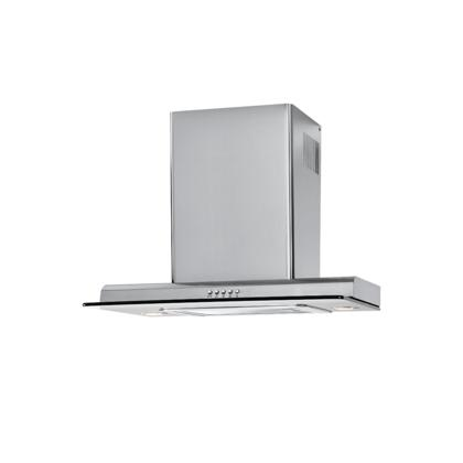 "Haier HCHxxx100ACS xxx""  Wall-Mount Range Hood with 450 CFM Motor, Three Speeds, Halogen Lighting and Three-Layer Washable Grease Filter in Stainless Steel with Tempered Glass"