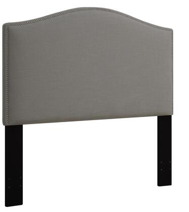 Pulaski DS-D016-270-x Fabric Upholstered Headboard For King Bed with   Nail Head Accents in