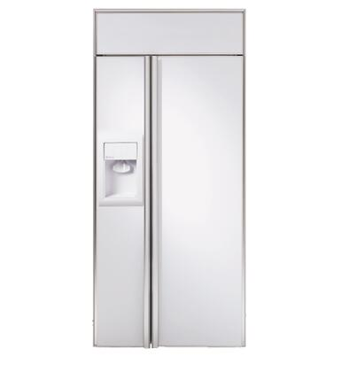 GE Monogram ZISW360DR Monogram Series  Side by Side Refrigerator with 21.70 cu. ft. Capacity in Panel Ready