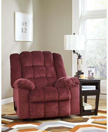 Flash Furniture FSD6199RECBRGGG Ludden Series Contemporary Fabric Metal Frame  Recliners