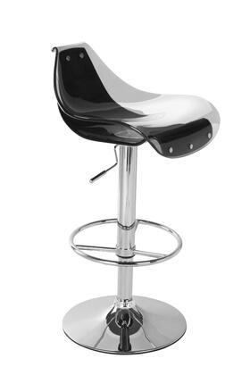 Global Furniture USA M250BSWHBL  Bar Stool