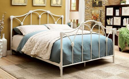 Furniture of America CM7731Q Cecilia Series  Queen Size Bed