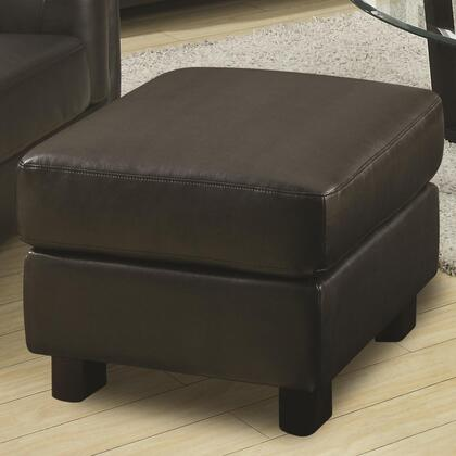 Coaster 504464 Sawyer Series Contemporary Bonded Leather Ottoman