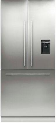 """Fisher Paykel RS36A80U1 36"""" Counter Depth French Door Refrigerator with 16.8 cu.ft. Capacity in Panel Ready"""