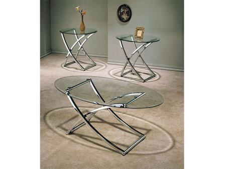 "Acme Furniture 07846A 48"" Contemporary Living Room Table Set"