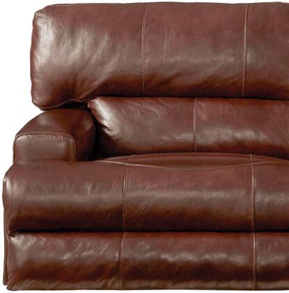 Catnapper 645807128319308319 Wembley Series Contemporary Leather Metal Frame  Recliners