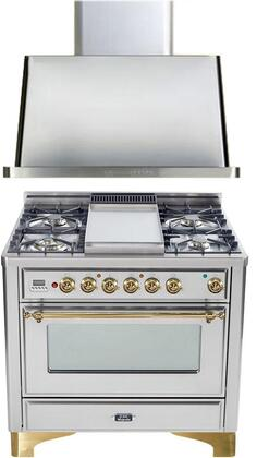 Ilve 720079 Majestic Kitchen Appliance Packages