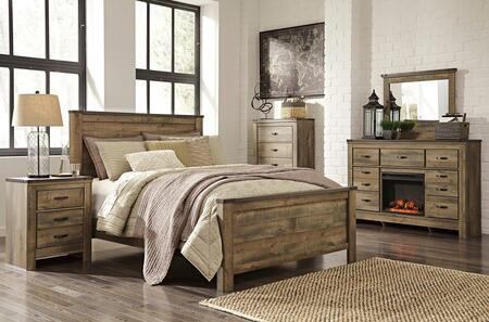 Signature Design by Ashley Trinell Bedroom Set B446QPBDM2NC