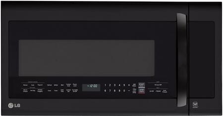 "LG LMVM2033S 30"" 2 cu. ft. Over-the-Range Microwave with 1000 Watt Cooking Power, Sensor Cooking Controls, 400 CFM Fan Exhaust, Glass Touch Digital Display and Porcelain Coated Interior"
