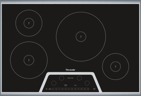 """Thermador Masterpiece Series CIT304K 31"""" Smoothtop Induction Electric Cooktop With 4 Elements, Touch Sensor Control, Keep Warm Function, Anti-Overflow System, Child Safety Lock, In"""