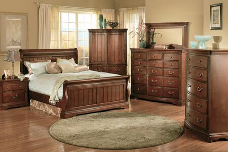Accent HA859502BED  Queen Size Sleigh Bed