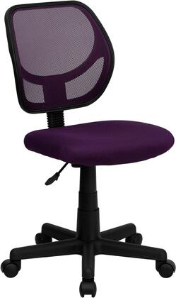 "Flash Furniture WA3074PURGG 21.5"" Contemporary Office Chair"