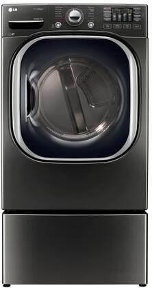 LG 744752 Black Stainless Steel Washer and Dryer Combos