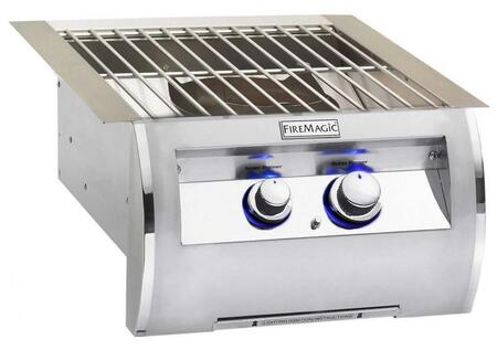 """FireMagic 194B1X0 Diamond 19"""" Power Burner with Stainless Steel Grid, Up to 60,000 BTUs"""