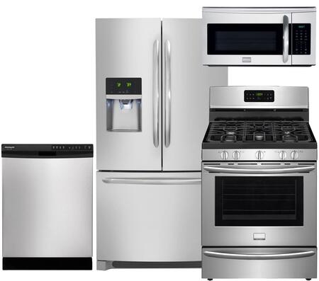 Frigidaire FG4PCFSFDCDFC30GSSKIT3 Gallery Kitchen Appliance
