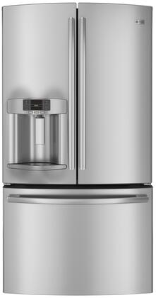 GE Profile PFE27KSDSS Profile Series  French Door Refrigerator with 26.7 cu. ft. Total Capacity 5 Glass Shelves