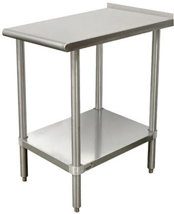 Advance Tabco TFMSU-1 Equipment Filler Table with Undershelf in Stainless Steel