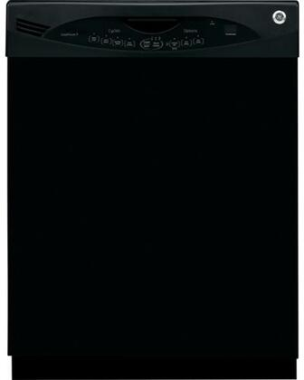 GE GLDA690MBB  Built-In Full Console Dishwasher with in Black