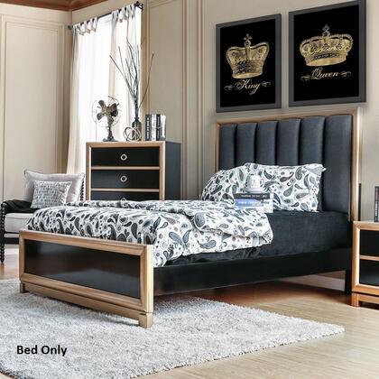 Furniture of America CM7263EKBED Braunfels Series  Eastern King Size Bed