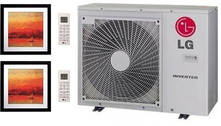 LG 704168 Dual-Zone Mini Split Air Conditioners